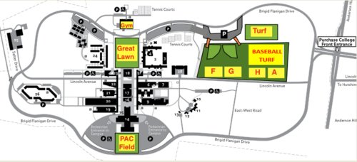 Purchase College Field Map