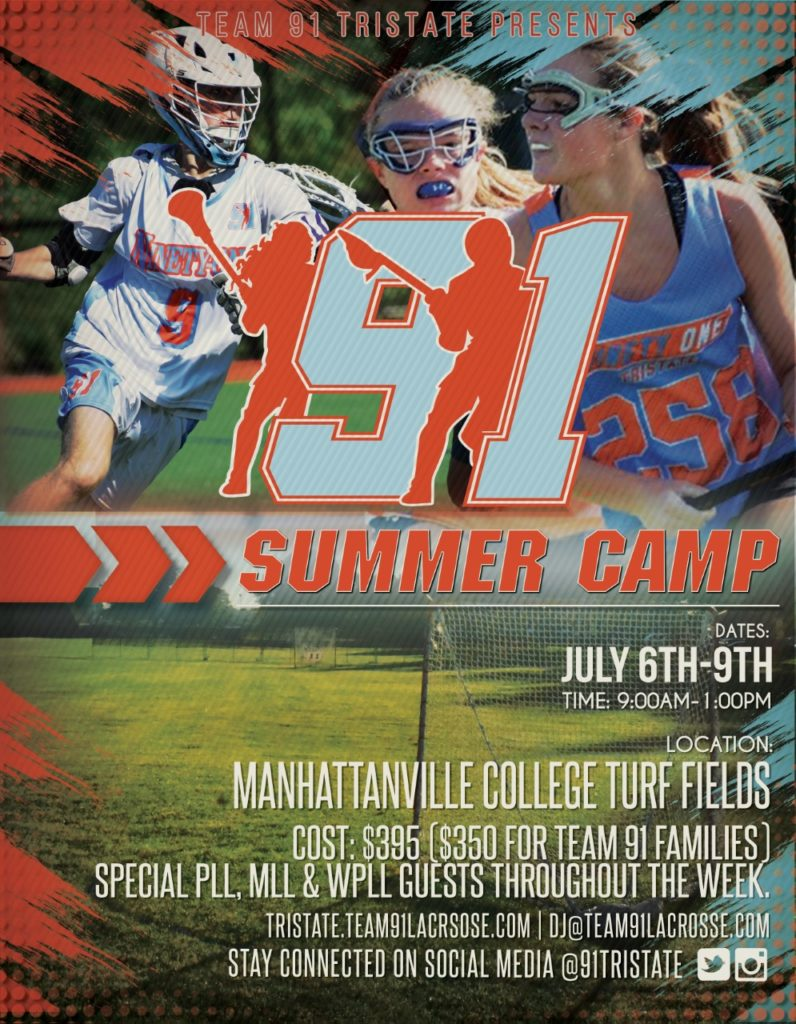 91 ts summer camp 2020 flyer