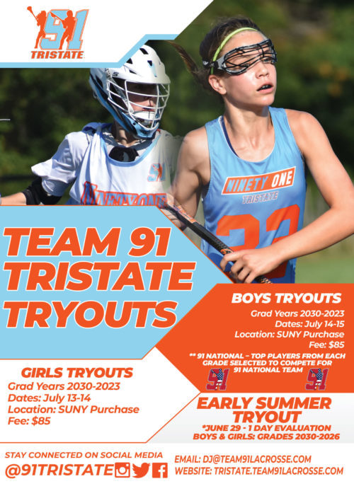 2020-2021 tryout flyer
